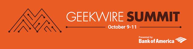 GeekWire Summit 2017 Banner
